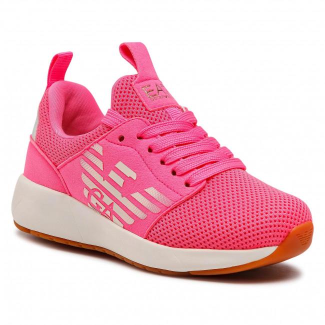 Sneakersy EA7 EMPORIO ARMANI - XSX009 XOT18 M644 Pink Fluo