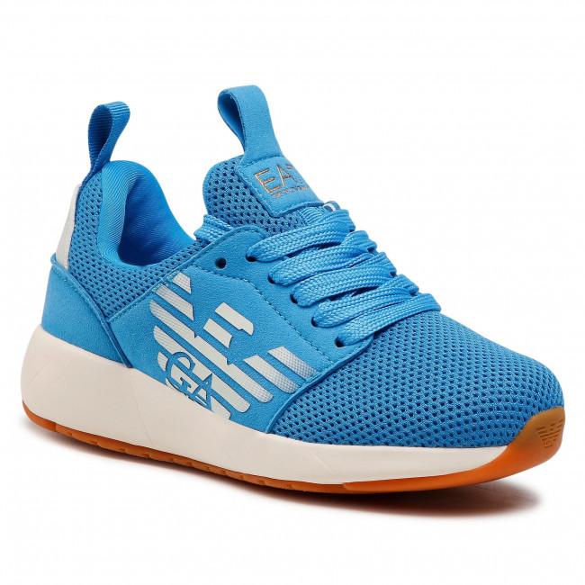 Sneakersy EA7 EMPORIO ARMANI - XSX009 XOT18 N552 Diva Blue
