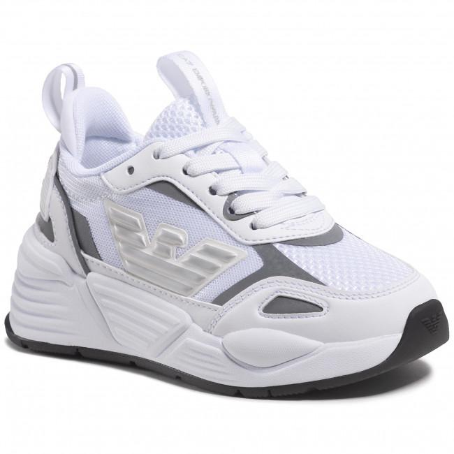 Sneakersy EA7 EMPORIO ARMANI - XSX012 XOT31 00175 White/Silver