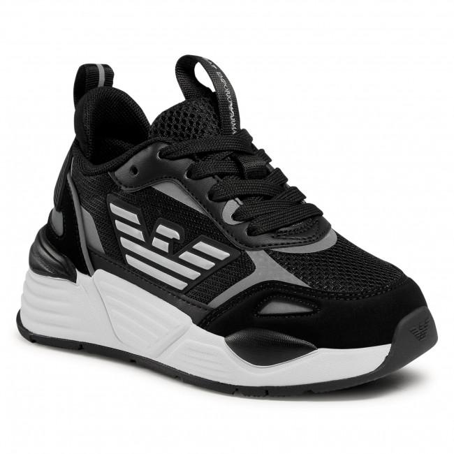 Sneakersy EA7 EMPORIO ARMANI - XSX012 XOT31 B168  Black/Silver