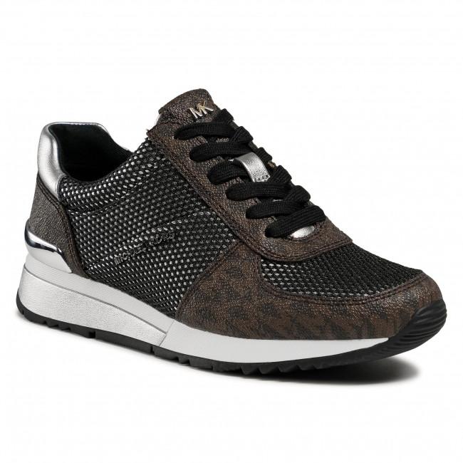 Sneakersy MICHAEL MICHAEL KORS - Allie Wrap Trainer 43R1ALFS1M Brown Multi