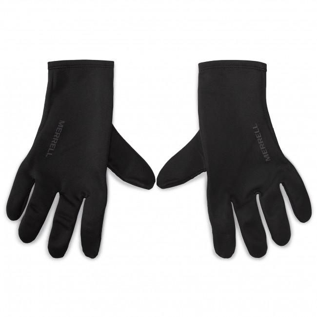 Rukavice Pánske MERRELL - Stretch Gloves GORE-TEX JAF25300 Black 010