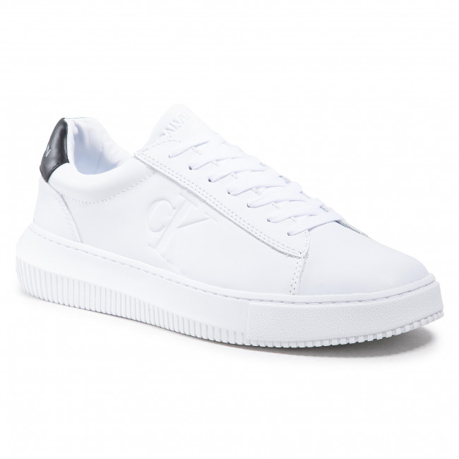 Sneakersy CALVIN KLEIN JEANS - Chunky YM0YM00036 Bright White YAF