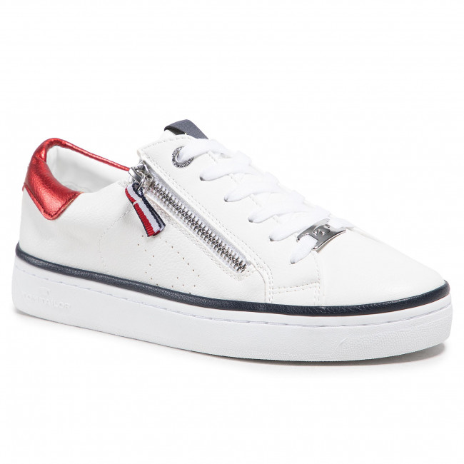 Sneakersy TOM TAILOR - 119260500  White 1