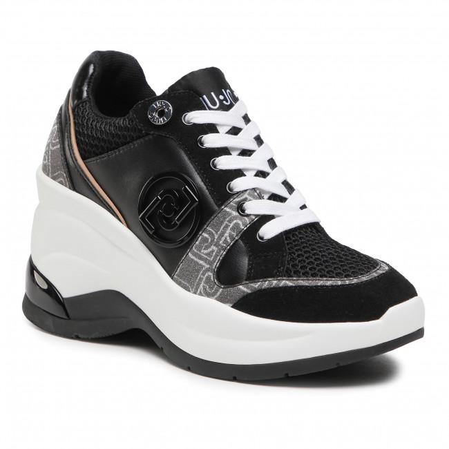 Sneakersy LIU JO - Karlie Revolution 30 BA1019 TX158 Black 22222