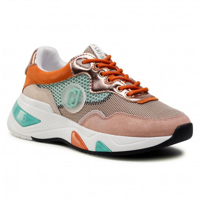 Sneakersy LIU JO - Hoa 10 BA1037 TX085  Nuage/Aquam S1636