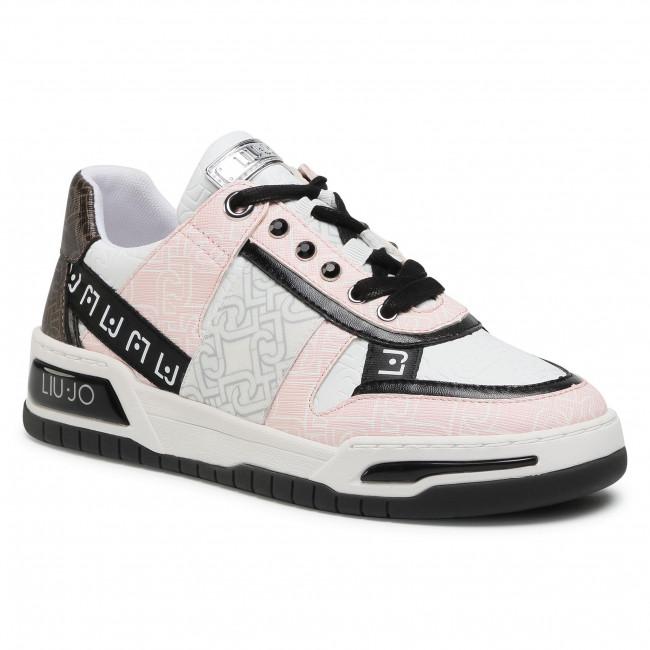 Sneakersy LIU JO - Gyn 05 BA1043 EX057  White/Milk S1022