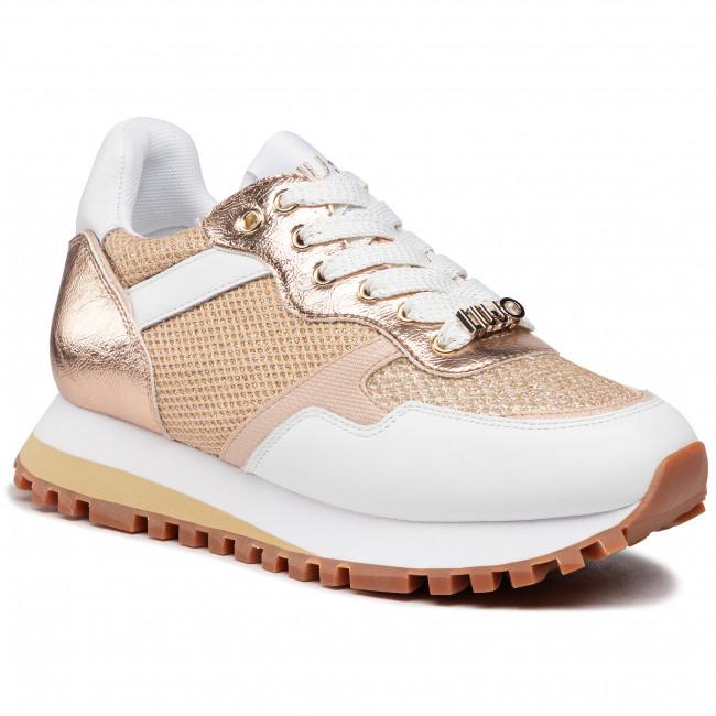 Sneakersy LIU JO - Wonder 1 BA1049 TX163 White/Gold 03D05