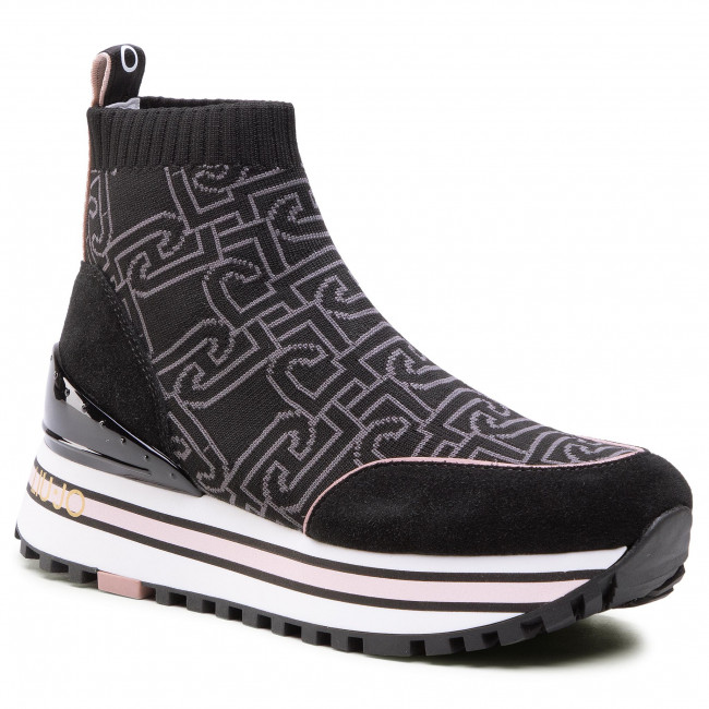 Sneakersy LIU JO - Maxi Wonder 23 BA1067 TX168 Black 22222