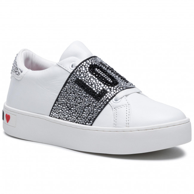 Sneakersy LOVE MOSCHINO - JA15103G1CIA0100 Bianco