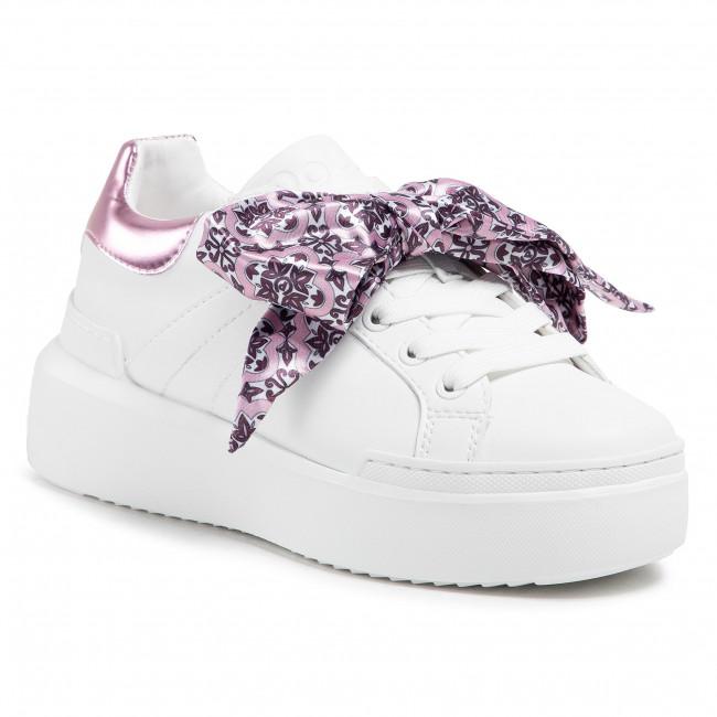 Sneakersy POLLINI - SA15034G1CXC110A Bian/Lm Qua