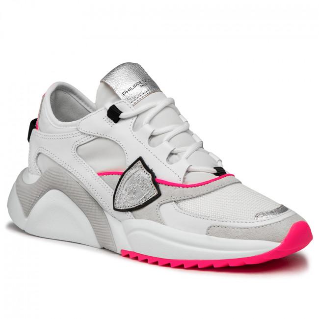 Sneakersy PHILIPPE MODEL - Eze EZLD WF06 Neon Blanc