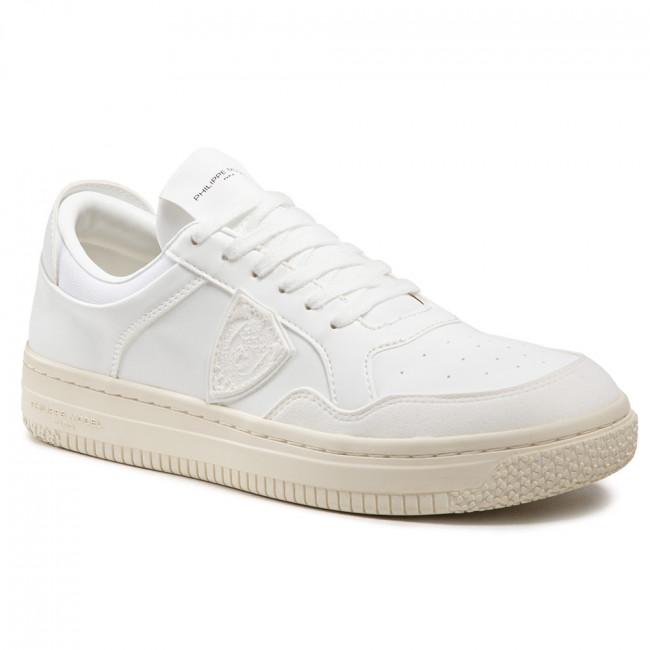 Sneakersy PHILIPPE MODEL - Lyon LYLU BL01 Blanc