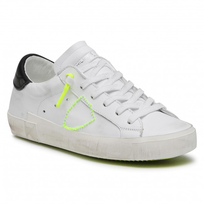 Sneakersy PHILIPPE MODEL - Prsx PRLD VBF1  Neon/Blanc Jaune