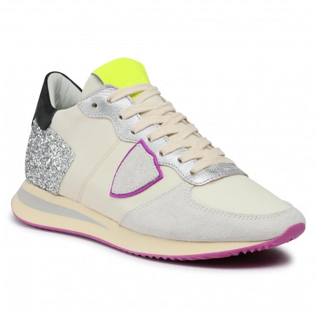 Sneakersy PHILIPPE MODEL - Trpx TZLD WMS1  Beige Fucsia
