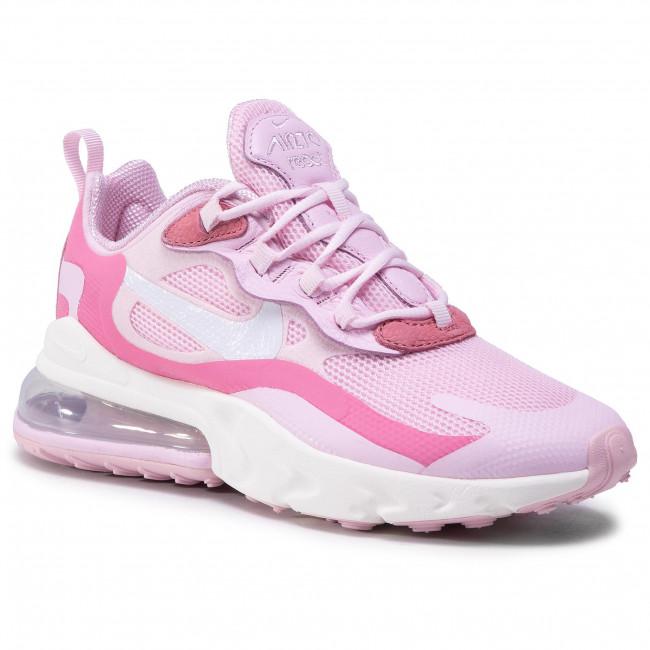 Topánky NIKE - Nike Air Max 270 React CZ0364 600 Pink Foam/White/Digital Pink
