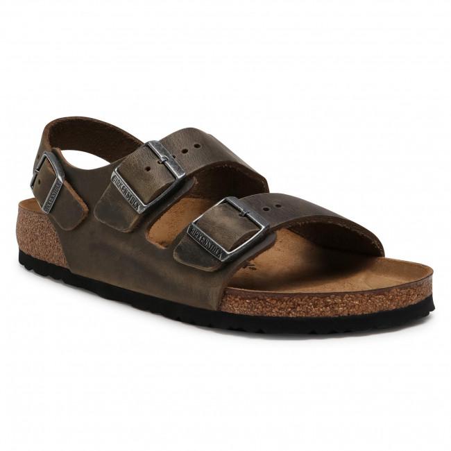 Sandále BIRKENSTOCK - Milano Bs 1019336  Faded Khaki