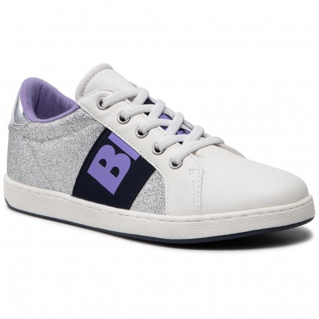 Sneakersy BLAUER - S1DORY04/GLI S Silver