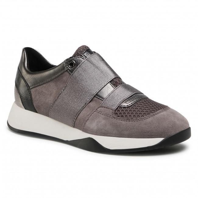 Sneakersy GEOX - D Suzzie D D94FRD 022BN C9F1G Dk Grey/Gun