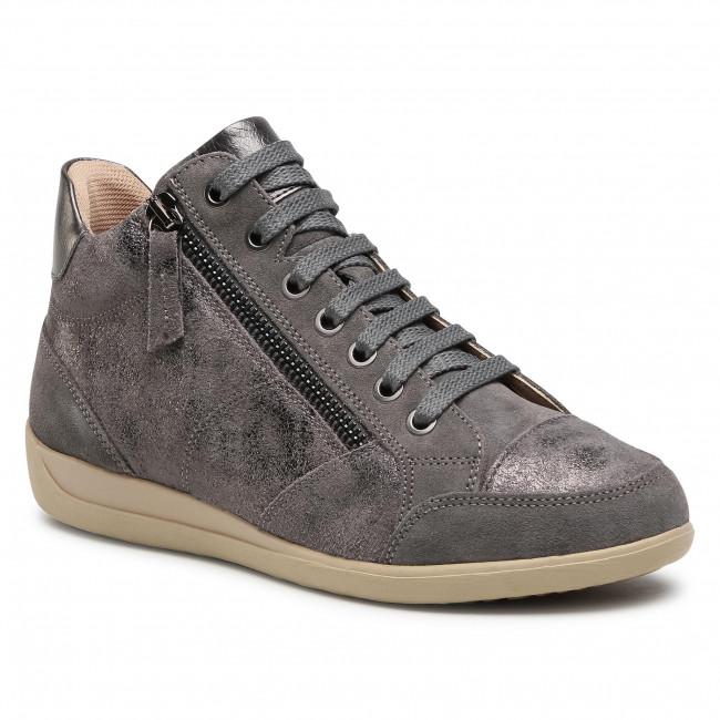 Sneakersy GEOX - D Myria D D0468D 0VI22 C9017 Dk Grey