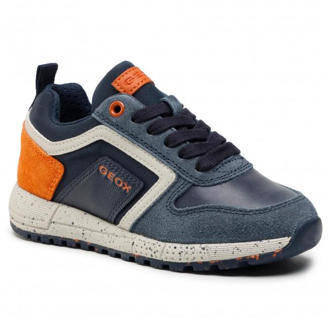 Sneakersy GEOX - J Alben B. D J049ED 022FU C0820 M Navy/Orange