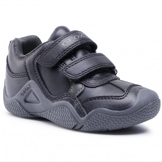 Sneakersy GEOX - J Wader A J0430A 05443 C0033 S Black/Military