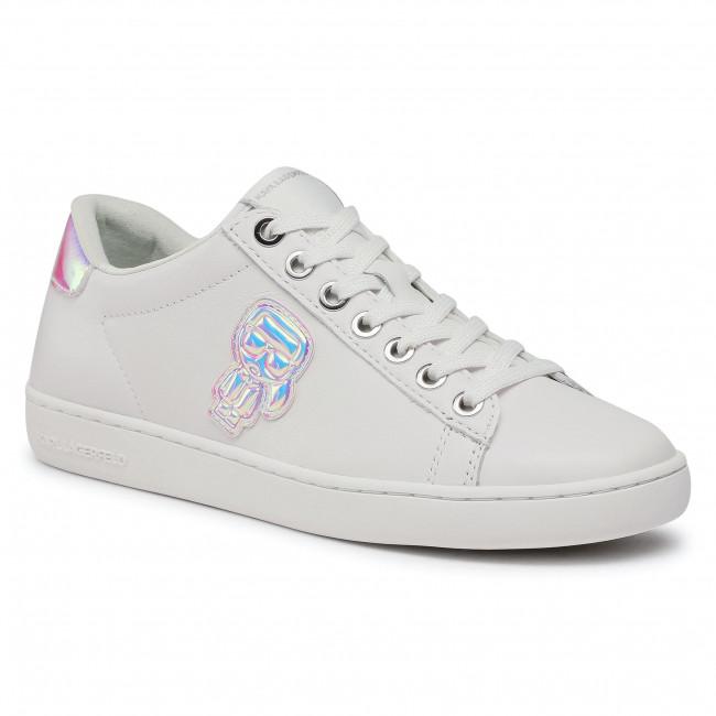 Sneakersy KARL LAGERFELD - KL61289 White Lthr
