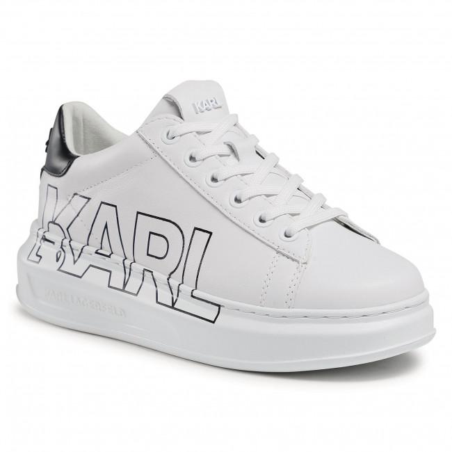 Sneakersy KARL LAGERFELD - KL62511 White Lthr