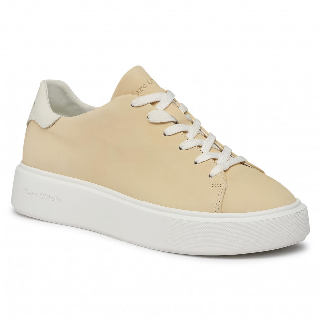 Sneakersy MARC O'POLO - 101 16283502 200 Light Yellow 255