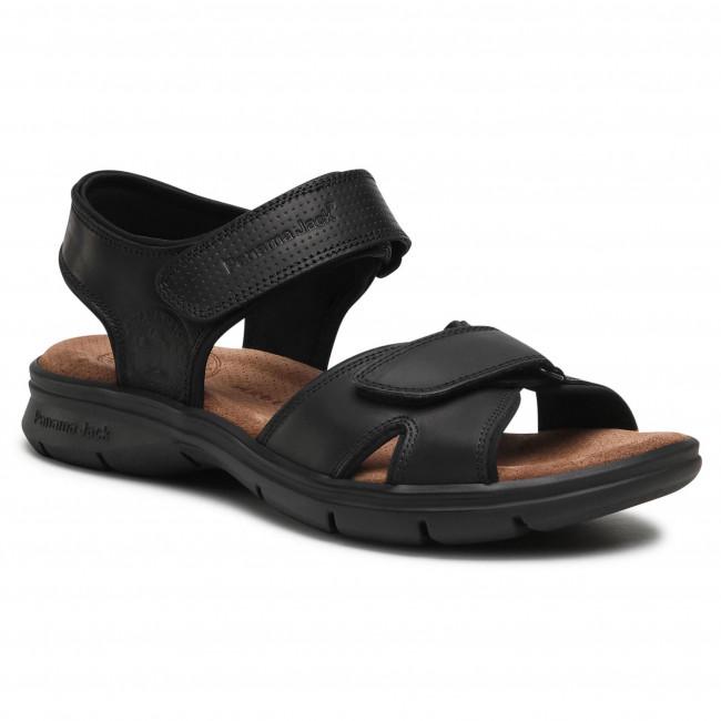 Sandále PANAMA JACK - Sanders Basics C2 Napa Grass Negro/Black