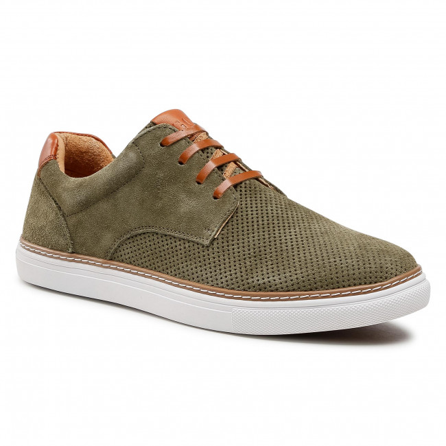 Sneakersy GOE - HH1N4034 Khaki/Brown