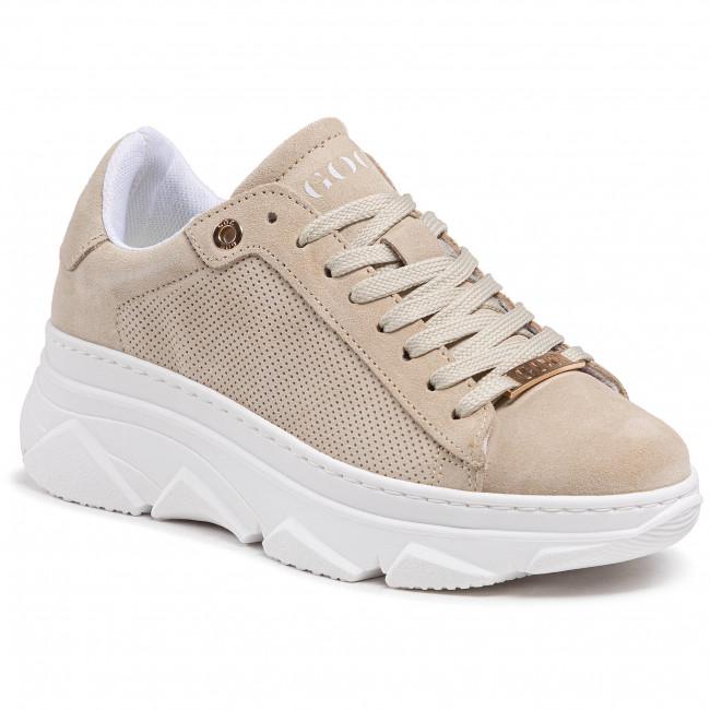 Sneakersy GOE - HH2N4062 Beige