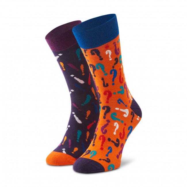 Ponožky Vysoké Pánske DOTS SOCKS - D20WF-SX-034-X Farebná