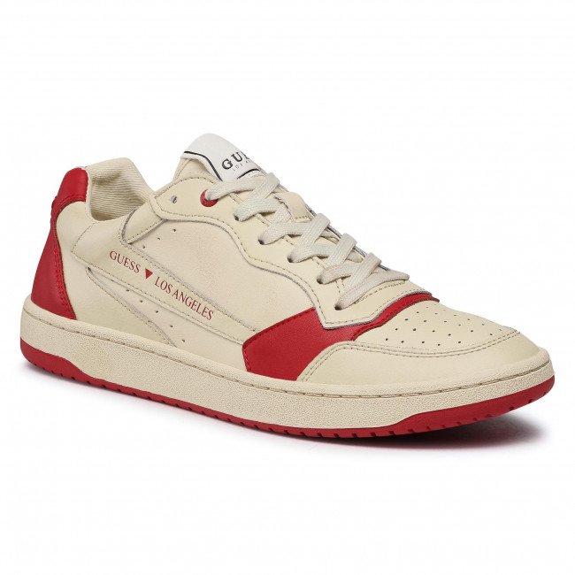 Sneakersy GUESS - PESARO FM7PES LEA12 WHIRE
