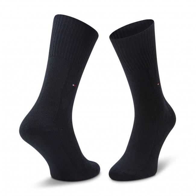 Ponožky Vysoké Dámske TOMMY HILFIGER - 100000859  Navy 001