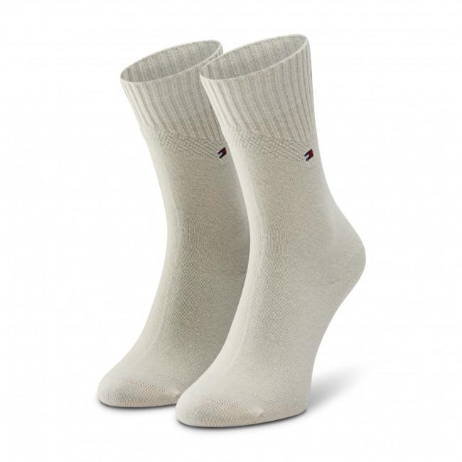 Ponožky Vysoké Dámske TOMMY HILFIGER - 100001311  Off White 002