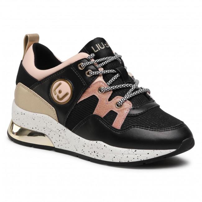 Sneakersy LIU JO - Karlie 10 4A1709 EX083 Black 22222