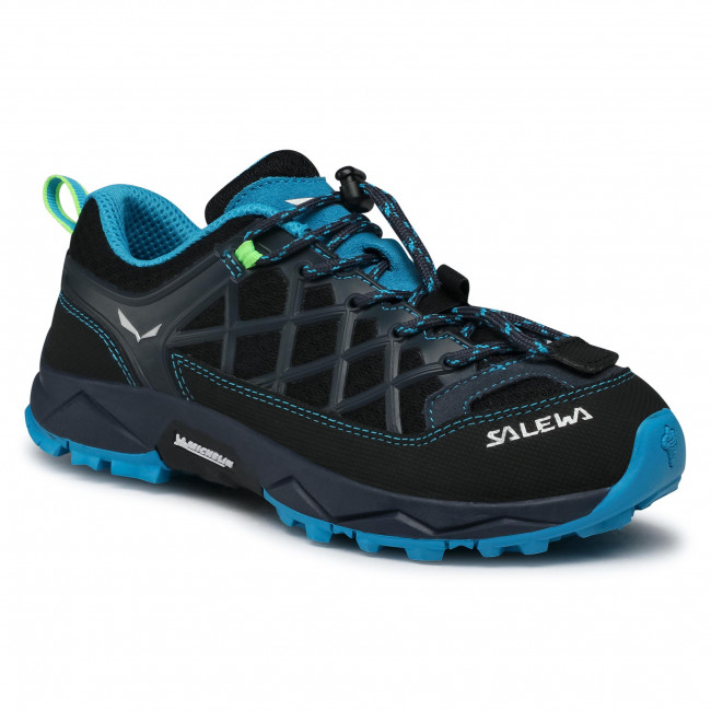 Trekingová obuv SALEWA - Jr Wildfire 64007-3847 Ombre Blue/Fluo Green