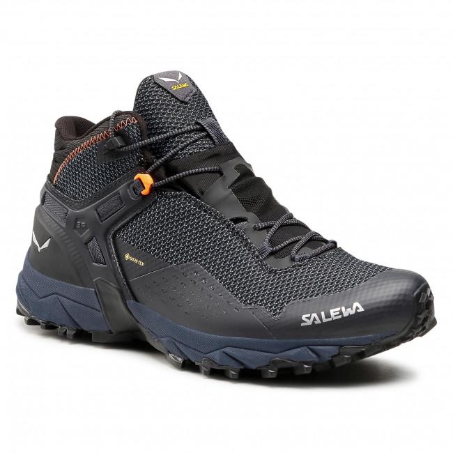 Trekingová obuv SALEWA - Ms Ultra Flex 2 Mid Gtx 61387-0984 Black Out/Red Orange 0984