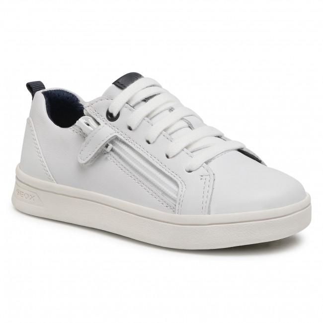 Sneakersy GEOX - J Djrock B. D J925VD 08554 C1000 M White