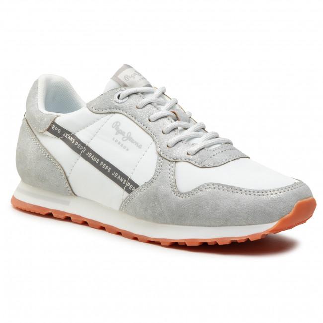Sneakersy PEPE JEANS - Verona W Lurex PLS31113 Silver 934