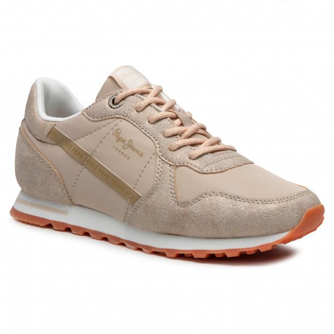 Sneakersy PEPE JEANS - Verona W Lurex PLS31113 Gold 099