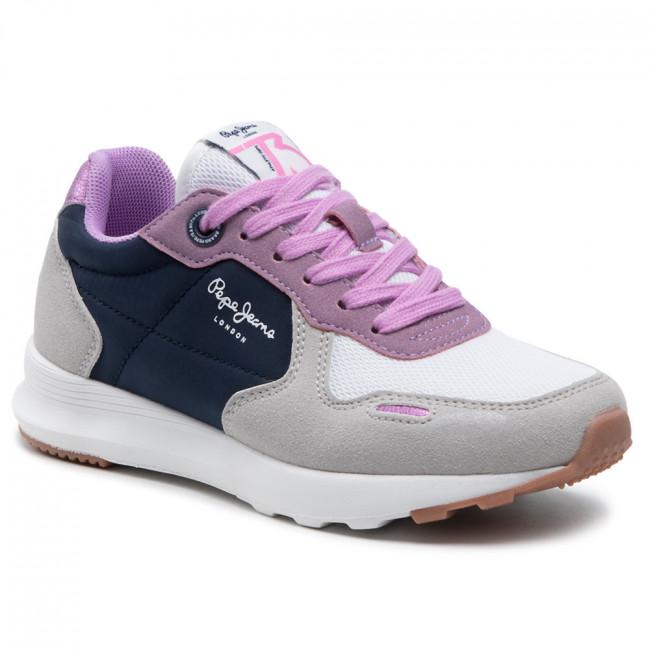 Sneakersy PEPE JEANS - York Basic Girl PGS30493 Navy 595