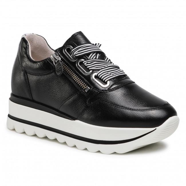 Sneakersy GABOR - 63.412.27 Schwarz/Weiss