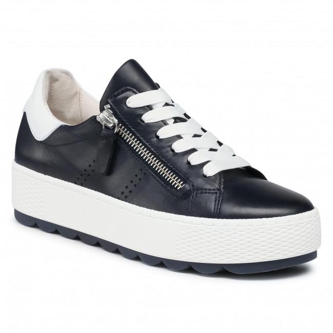 Sneakersy GABOR - 66.538.66 Midnight/Weiss