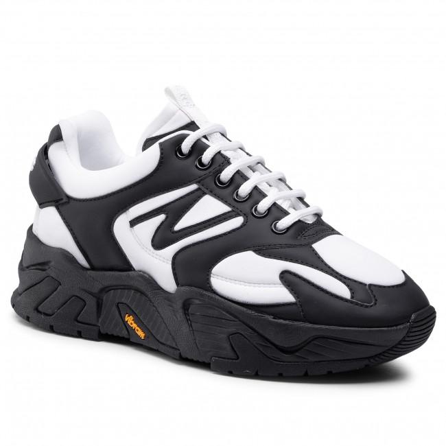Sneakersy ICEBERG - 21EID1809A Bianco/Acc.Selv