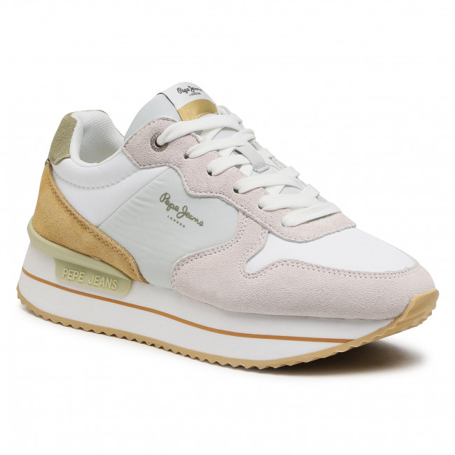 Sneakersy PEPE JEANS - Rusper Young PLS30991 White 800