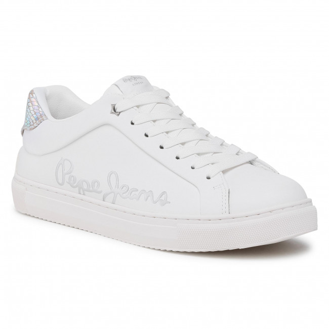Sneakersy PEPE JEANS - Adams Brand PLS31156  White 800