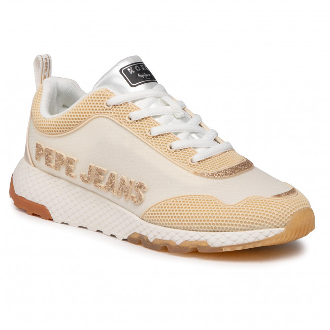 Sneakersy PEPE JEANS - Koko Kap PLS31177 Light Nude 301