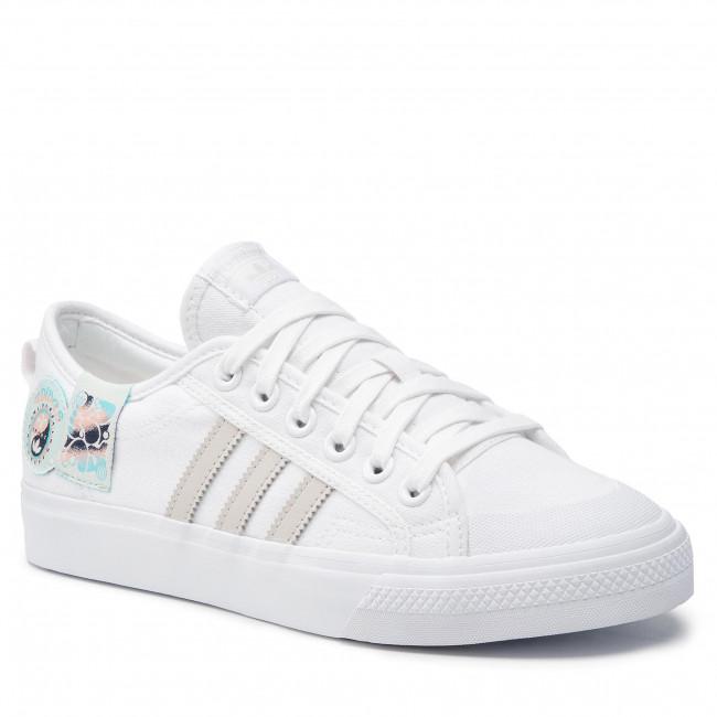 Topánky adidas - Nizza GZ8657  Ftwwht/Cbrown/Halmin